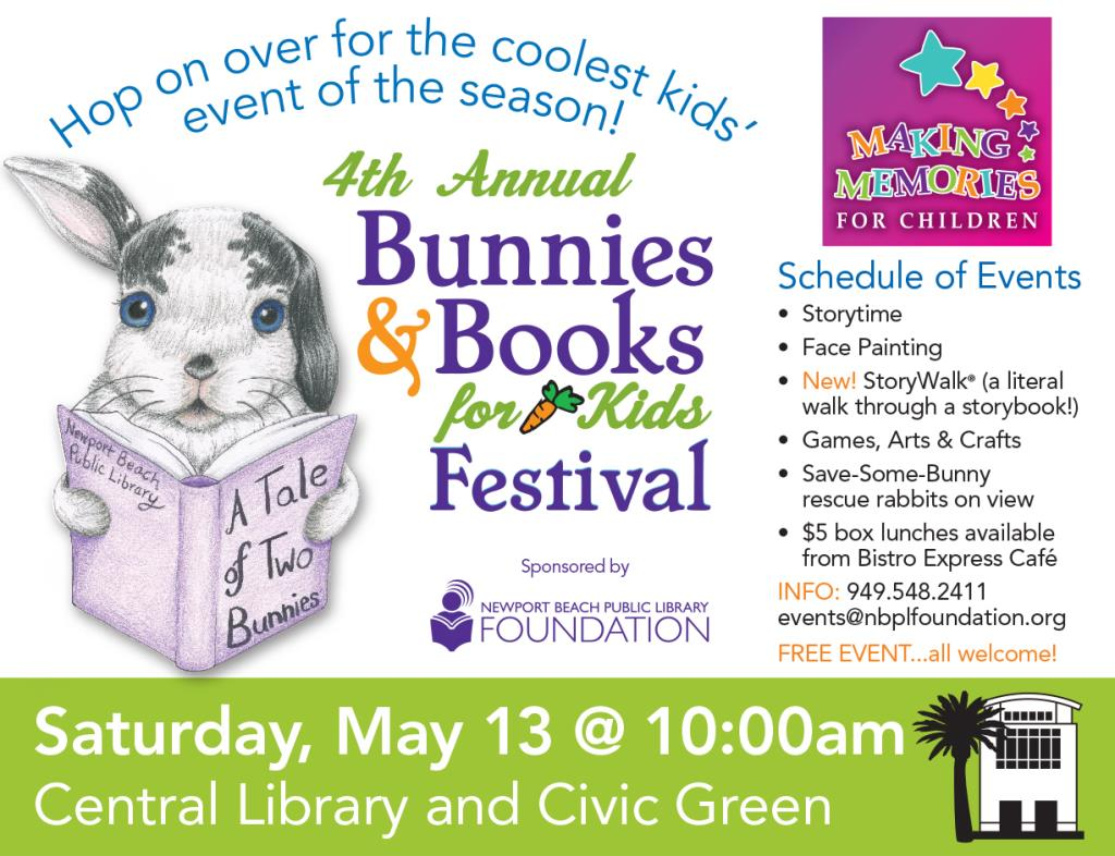 Bunnies & Books 2017