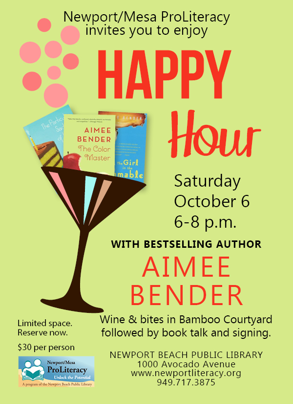 Happy Hour with Aimee Bender