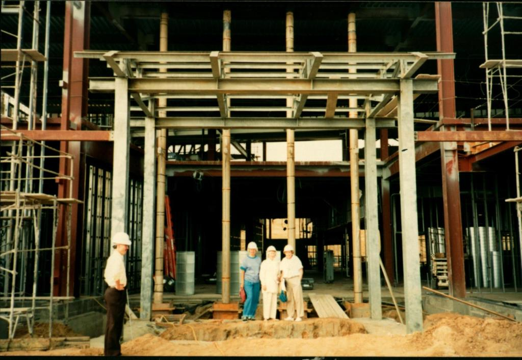Central Library Construction 1994