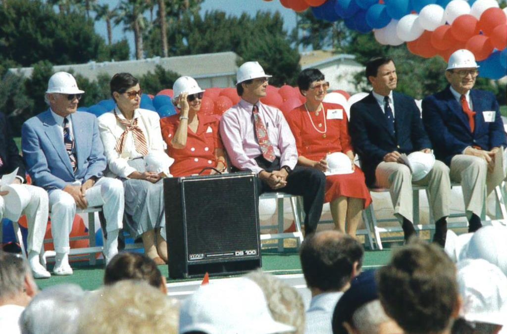 Groundbreaking Ceremony June 1992