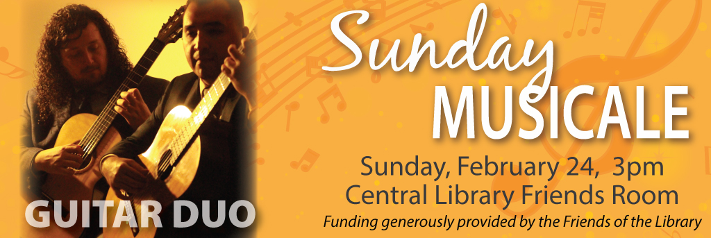 Link to Sunday Musicale February 24