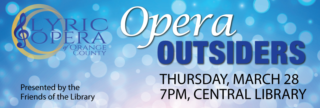 Opera Outsiders, Thursday, March 28
