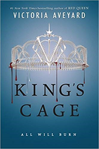 King's Cage book cover