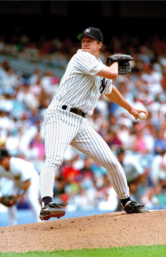 Jim Abbott pitching