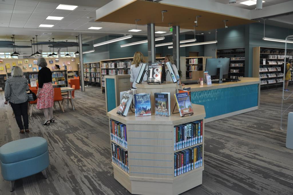 CDM Library interior