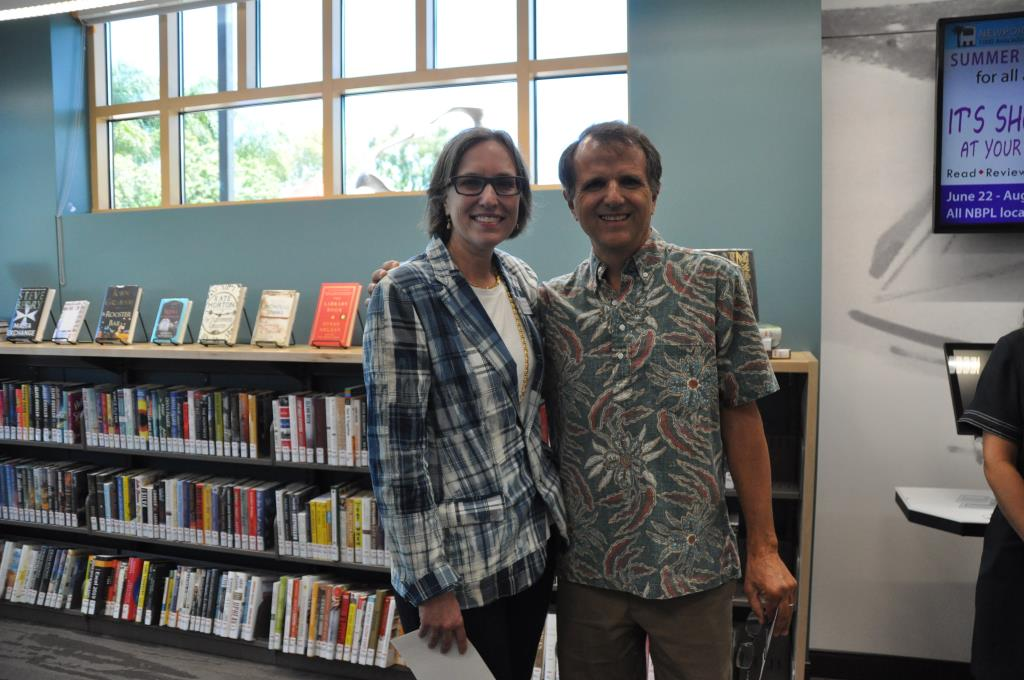 NBPL Foundation's Meg Linton and Walter Stahr