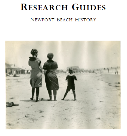Newport Beach Research Guide image