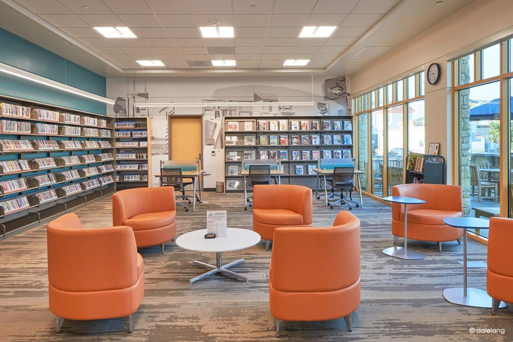 CDM Library reading area