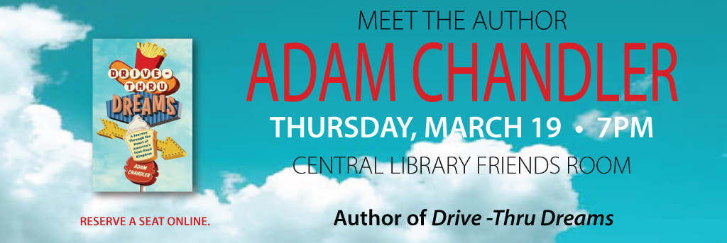 Link to Meet the Author: Adam Chandler