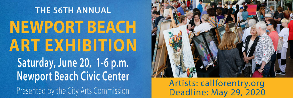 Link to Newport Beach Art Exhibition, June 20, 2020