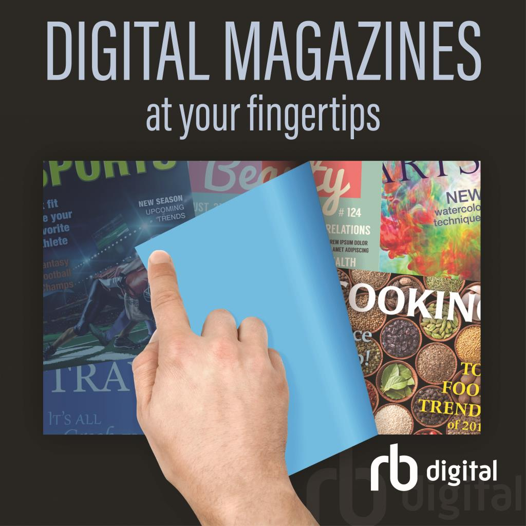 Digital Magazines at your fingertips