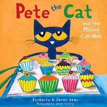 Pete the Cat and the Missing Cupcakes by Kimberly and James Dean--Harper Collins
