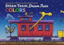 Steam Train, Dream Train Colors by Sherri Duskey Rinker - Chronicle