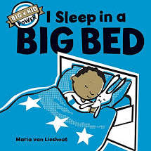 I Sleep in a Big Bed by Maria van Lieshout-- Chronicle Books
