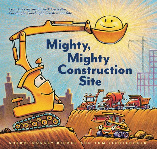 Mighty Mighty Construction Site Book Cover