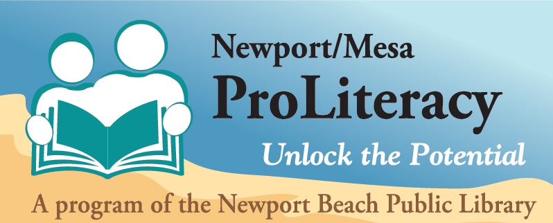Newport Mesa Pro Literacy logo