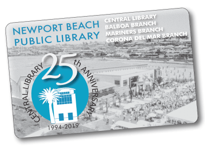 25th Library Card