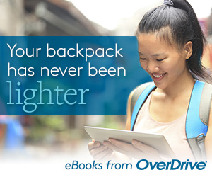 Your backback has never been light. eBooks from Overdrive